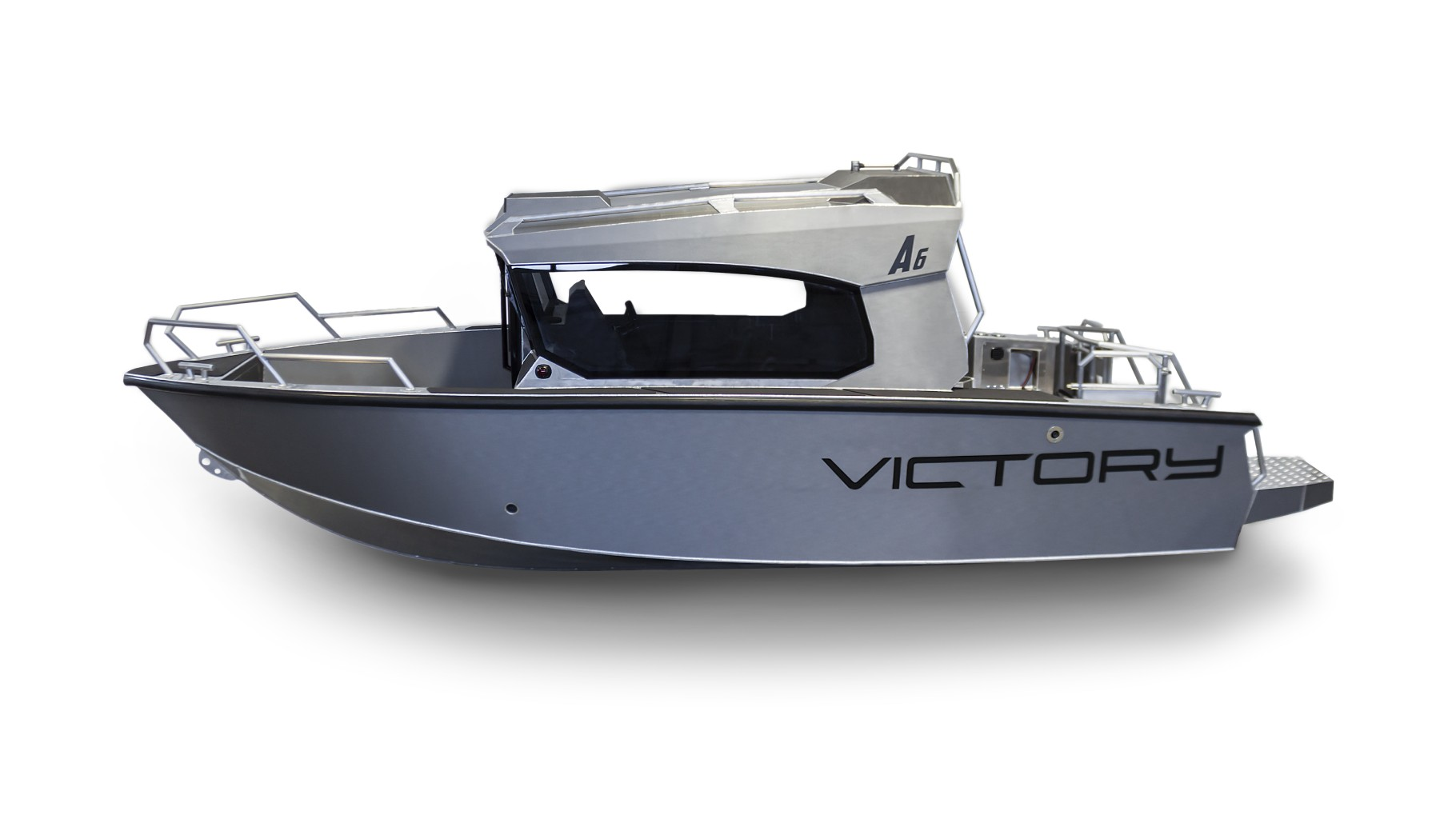 victory a6 cabin boat